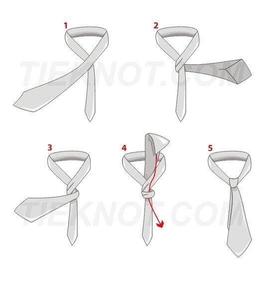 Simple tie knot