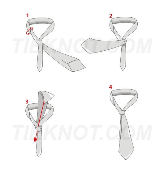 Small tie knot