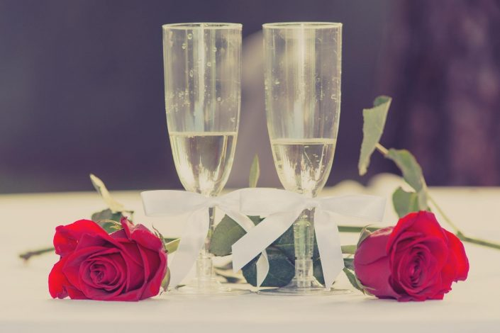 Anniversary celebration in two