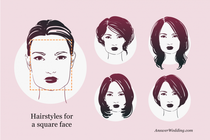 Hairstyles for a square face