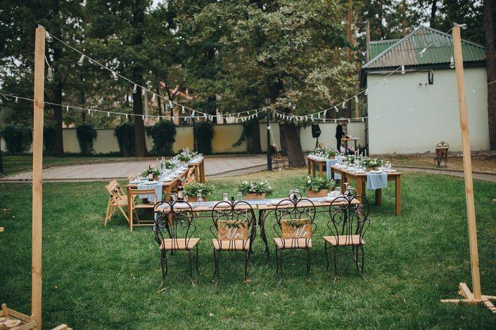 Seating arrangements boho wedding