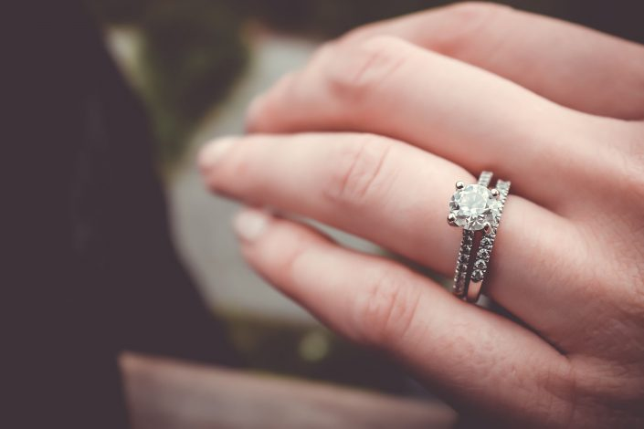 Where to wear wedding and engagement rings